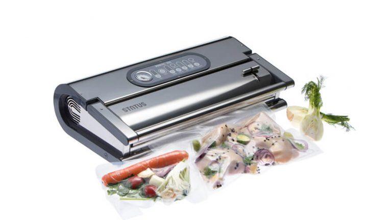 profesionalni vakuumski aparat Provac 360 z zavakuumiranimi živili