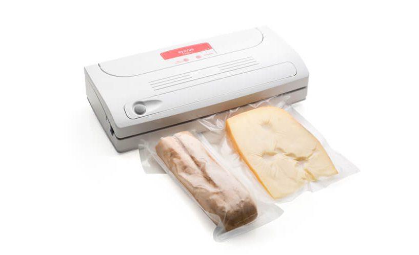 Vakuumirka FV500; vakuumiranje kruha in sira hkrati.