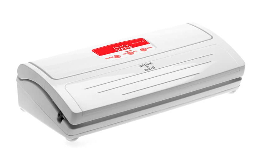 Vakuumirka HV500 na beli podlagi.
