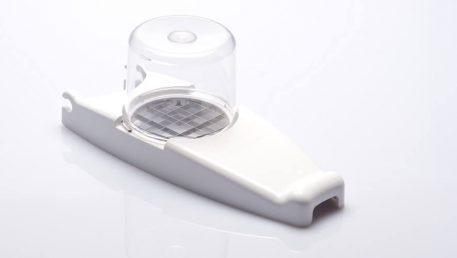 Dodatno XL rezilo za rezalnik čebule v beli barvi.