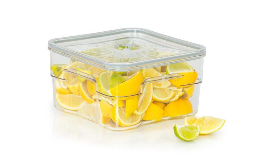 gastro vakuumska posoda volumna 4 litrov z limonami