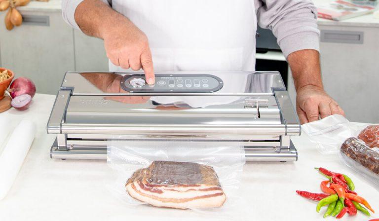 Status Provac 360 prikaz vakuumiranja slanine.