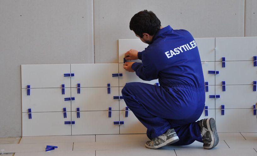 Polaganje ploščic s sistemom easytiler