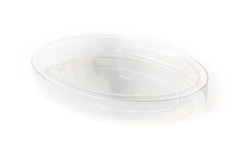 Prazna embalaža za piškote srednje velikosti