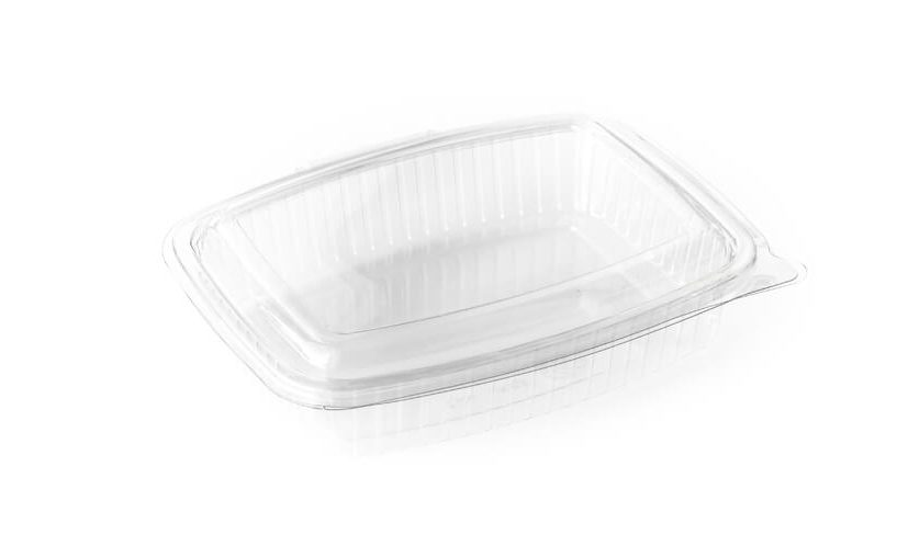 Primer prazne enodelne embalaže za pecivo