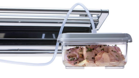 Provac marinator set - vakuumska posoda in poseben priključek za vakuumski aparat