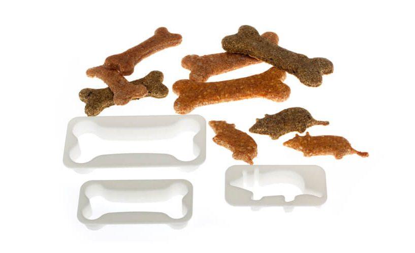 Modeli za peko piškotov za hišne ljubljenčke.