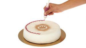 Dekorativno pisalo - okraševanje torte.