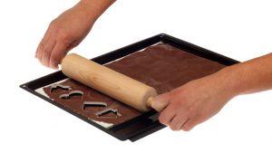 Plošča za rezanje piškotov