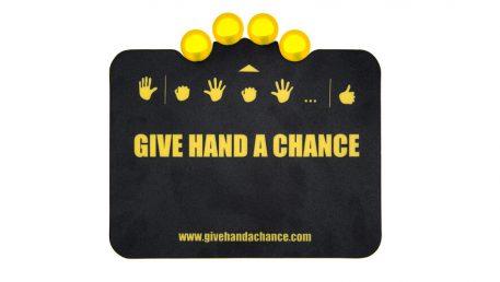 Aktivna podloga za miško Give hand s chance