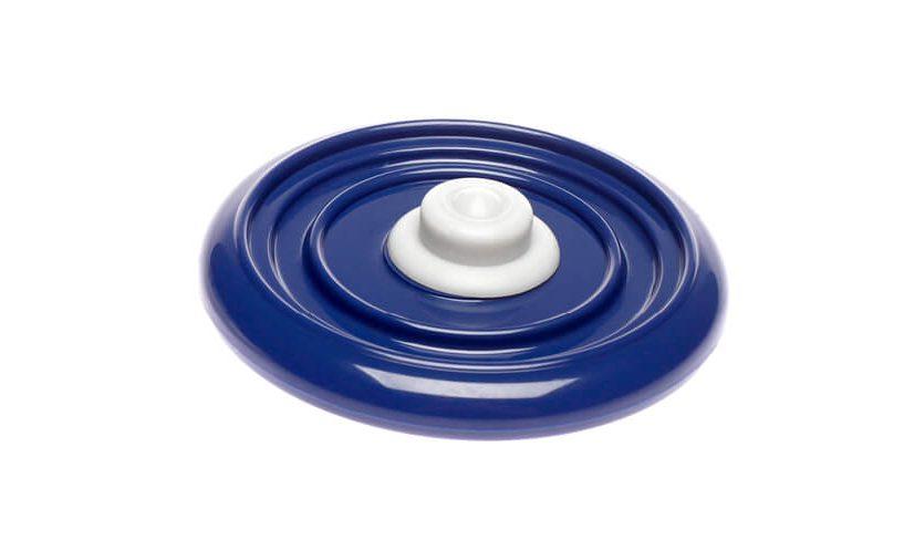 Univerzalni vakuumski pokrov 1 v modri barvi.