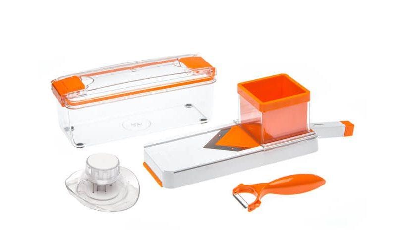 4-delni set rezalnik V oblike za rezanje na rezine in trakove