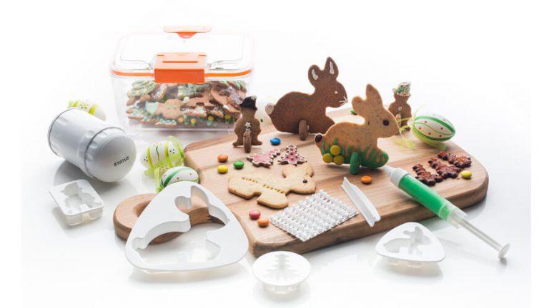 Set za praznično peko piškotov