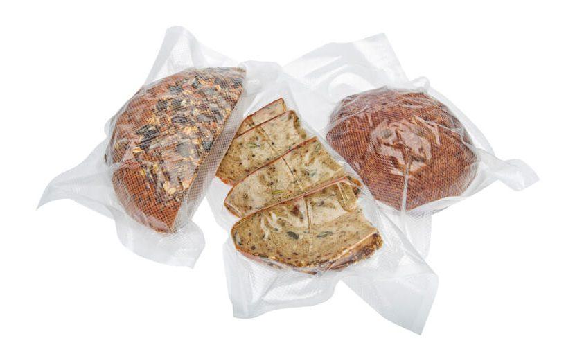 Zavakuumiran kruh v Statusovih vrečah za vakuumiranje.