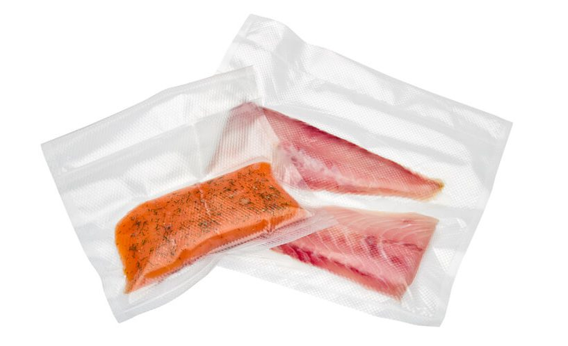 vakuumske vrečke Status: zamrzovanje rib