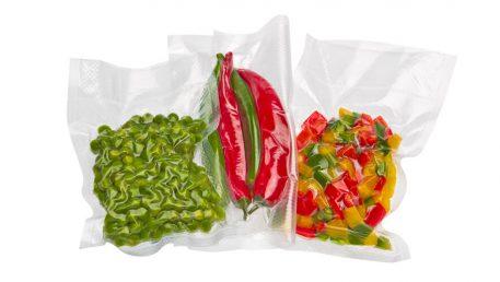Zavakuumirana paprika in feferoni v večjih vrečah za vakuumiranje Status