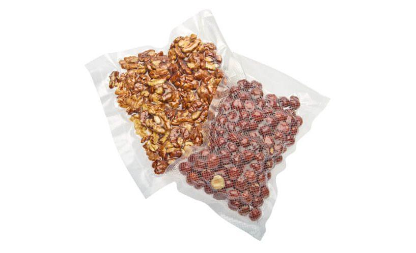 oreščki shranjeni v vakuumskih vrečkah Status