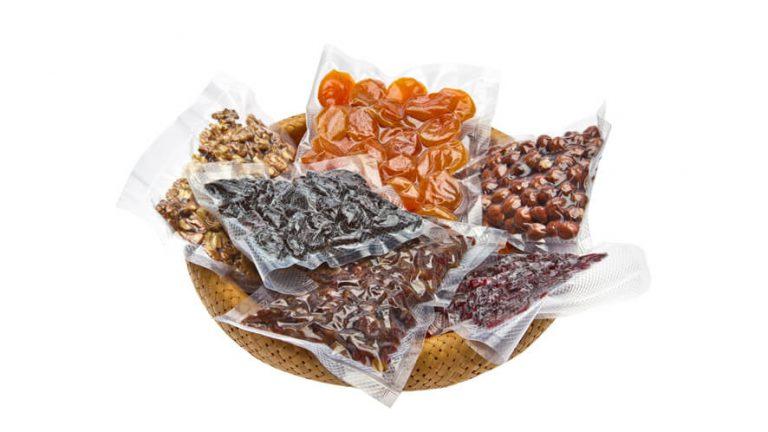 vakumsko shranjena živila