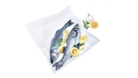 največje vakuumske vrečke za cele ribe