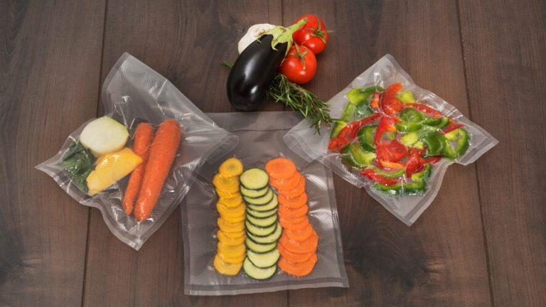 vakuumske vreče za shranjevanje zelenjave