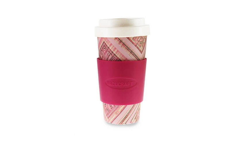 okolju prijazen lonček za kavo iz bambusa