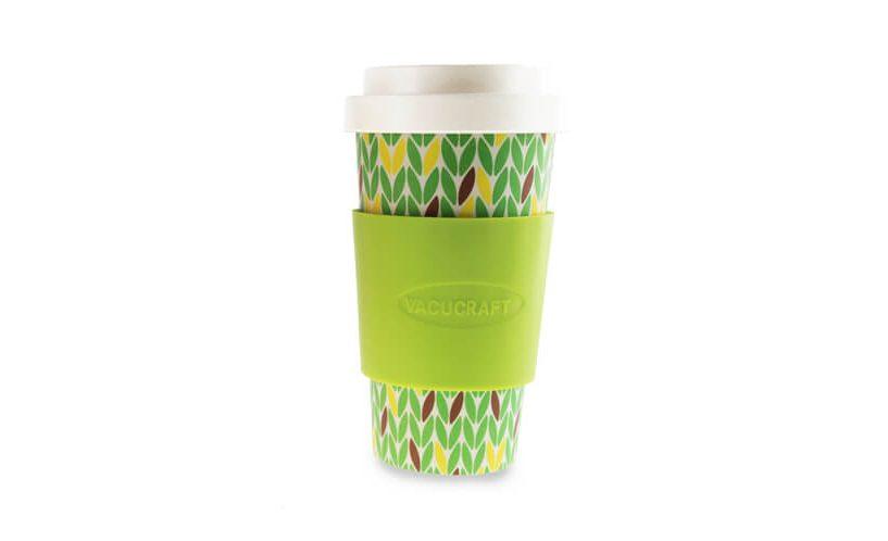 Vacucraft lonček iz bambusa za kavo ali čaj.