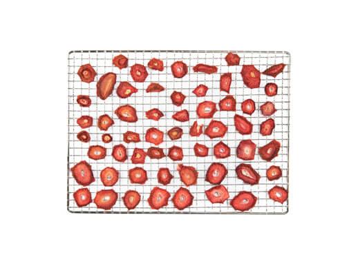sušenje jagod