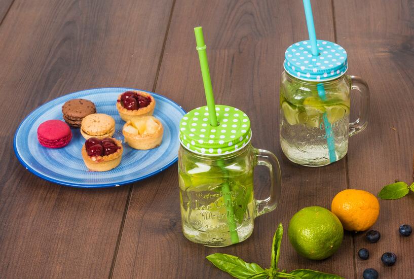 osvežilni napitki za vroče poletne dni