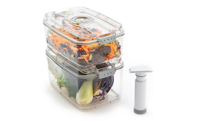 vakuumske posode za podaljševanje obstojnosti živil