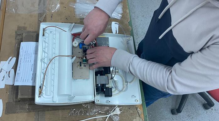Servis vakuumskega aparata