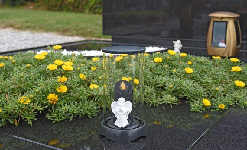 sveča za na pokopališče